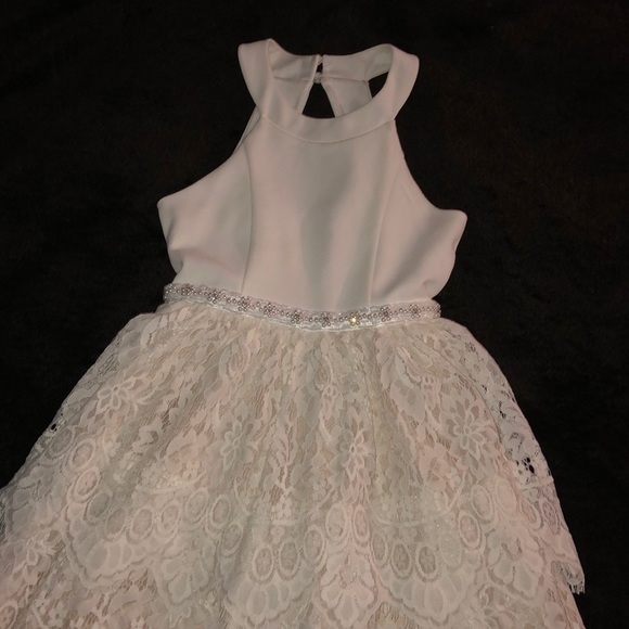 Rare Editions Other - Little girls white formal dress size 8